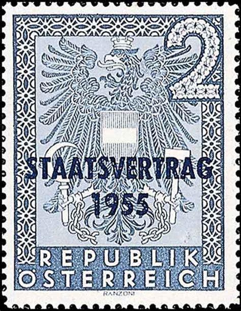 staatsvertrag  briefmarken kunst und kultur im