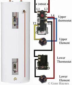 Wiring Diagram Rheem Water Heater