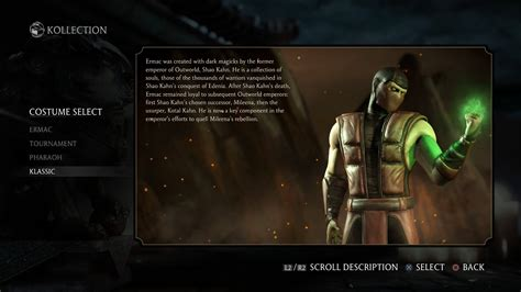 mkx tremors variations   skins revealed
