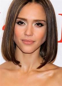 Coupe De Cheveux Pour Visage Long : coiffure mi long 2015 visage rond ~ Melissatoandfro.com Idées de Décoration
