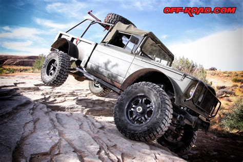 kaiser jeep lifted mackie s kaiser jeep m715 new life on the trail off