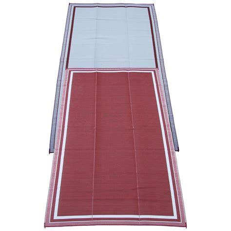 fireside patio mats cranberry 9 ft x 18 ft