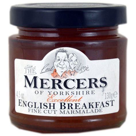 Mercers English Breakfast Marmalade 130g | Approved Food