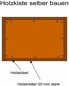Holzbox Selber Bauen : eine holzkiste selber bauen anleitung mit bauplan ~ Whattoseeinmadrid.com Haus und Dekorationen