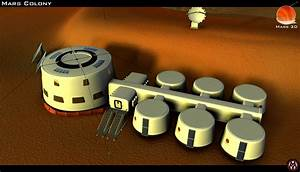 Mars Colony Model - Pics about space