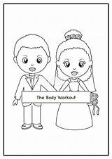 Coloring African Activity Children Colouring Bridal Shower Activities Order Closed Template Weddings sketch template