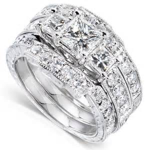 engagement ring and wedding band set me engagement ring and wedding band set 1 2 carat ct tw in 14k white gold 3
