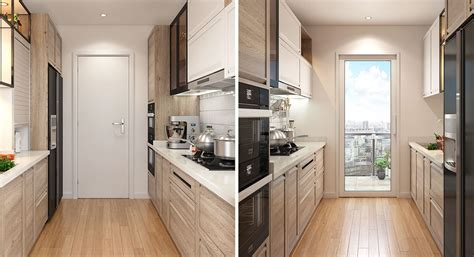 oppein transitional style small galley kitchen op pp