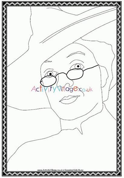 Coloring Mcgonagall Professor Potter Harry Colouring Pages