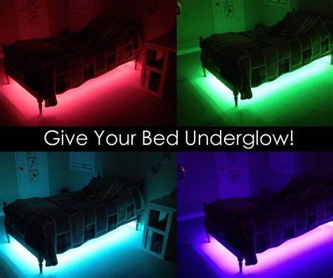 Led Light On Room by Give Your Bed Underglow 7 Steps With Pictures