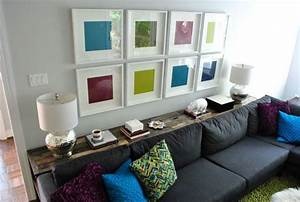 Console Derriere Canapé : what to put on a console table behind a couch ~ Melissatoandfro.com Idées de Décoration