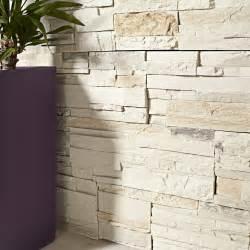 Plaque De Parement Leroy Merlin : plaquette de parement b ton blanc nuanc brasilia leroy ~ Dailycaller-alerts.com Idées de Décoration