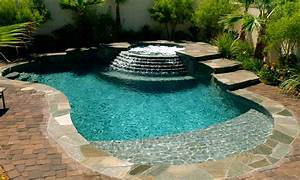 Greecian pools bakersfield ca spool cocktail swimming for Spool pool designs