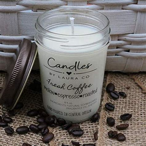 It's a gentle way to perk yourself up when you don't want to brew a fresh pot of coffee. Amazon.com: Fresh Coffee 8 oz Soy Jar Candle: Handmade