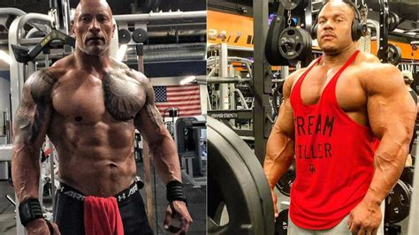 The Rock Is In His Best Shape Ever At 257 Pounds And Phil