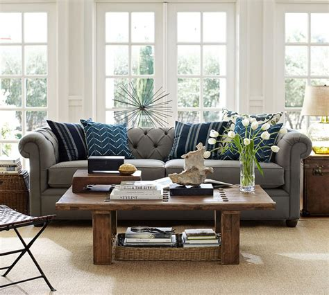 Pottery Barn Chesterfield Grand Sofa by Chesterfield Upholstered Sofa Pottery Barn Au