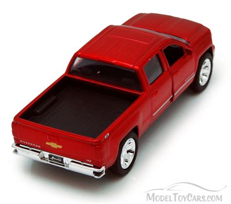 chevy silverado pickup truck red jada toys  trucks