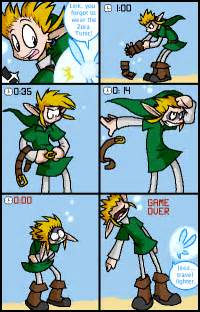 Legend of Zelda Funny Link Comics
