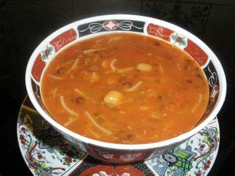 recettes cuisine chinoise soupe harira au délicook photos