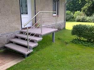 Fliesen Für Außentreppe : treppe aussen haus eingang podest naturstein granit beton stufe tritt beige ebay ~ Frokenaadalensverden.com Haus und Dekorationen