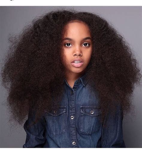 little black girls with long hair long afro hair black