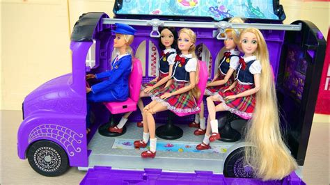barbie ken s bunk bed bedroom morning for school breakfast cereal sekolah pagi barbie casa