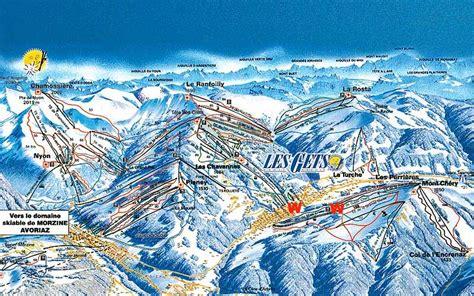 plan des pistes portes du soleil 28 images morzine ski passes the tasty ski company morzine