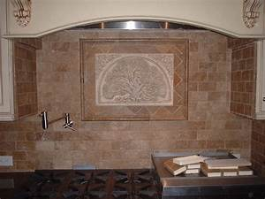 backsplash decorative tile tile design ideas With kitchen cabinets lowes with elegant framed wall art