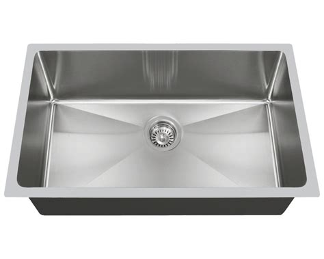 degree stainless steel undermount sinks custom kitchens baths