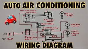 Basic Auto Air Conditioning Wiring Diagram