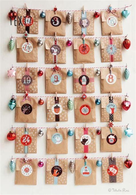 adventskalender mädchen selber basteln adventskalender selber machen aus papiert 252 ten gutscheine selbst basteln advent weihnachten
