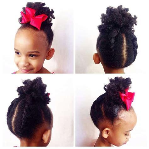 african princess  black girl natural hair