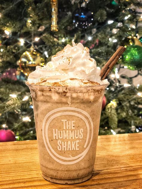 eggnog hummus shake popsugar fitness