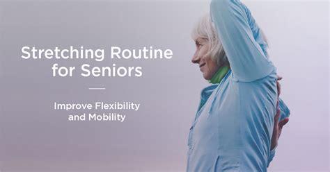 exercises for seniors improve mobility