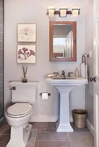 A small half bathroom is the one place where you can go ...