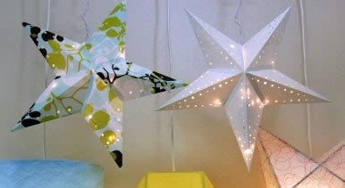 paper star lantern printable template