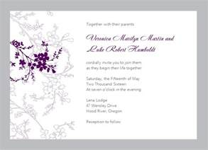 wedding sles free wedding invitation layout design wedding invitation