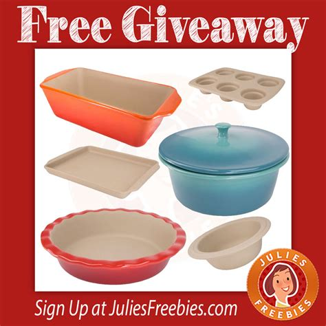 bakeware american giveaway ends enter offer april daily
