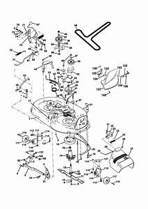 Yard Machine 42 Inch Riding Mower Belt Diagram