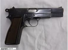 ARMSLIST For Sale FN Browning HiPower 9mm Argentine