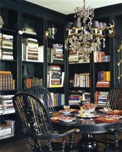 Bookcase In Dining Room by 1000 Images About Black Bookcases On Black