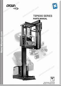 Crown Forklifts Parts Manuals Model Tsp6000 Parts