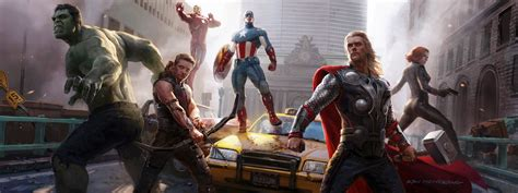 avengers concept art wallpapers hd wallpapers id