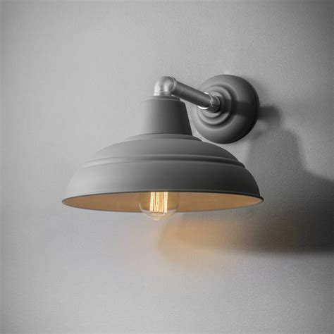 industrial wall light by all things brighton beautiful