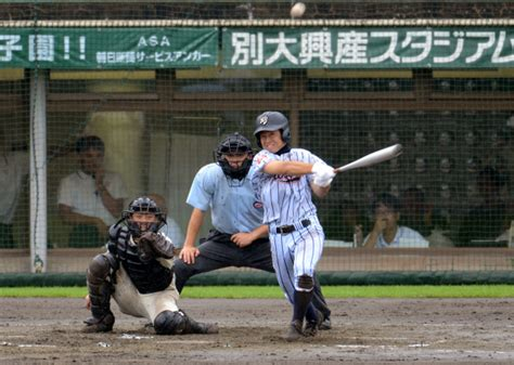 高校 野球 大分 速報