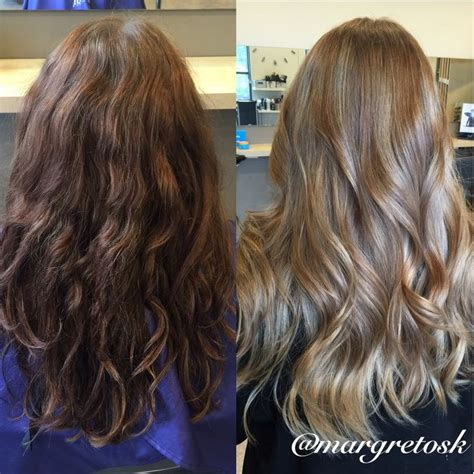 Before And After To Brown by 25 Best Ideas About Brown To On Blond