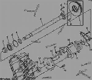 Rear Axle Shaft And Housing -  U516c U7528 U8f66 U8f86 John Deere X