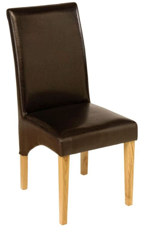 zeba chocolate brown dining chair dining chairs