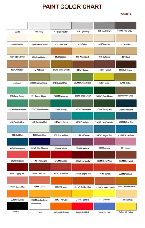 5 best images of color place paint chart blue pms color