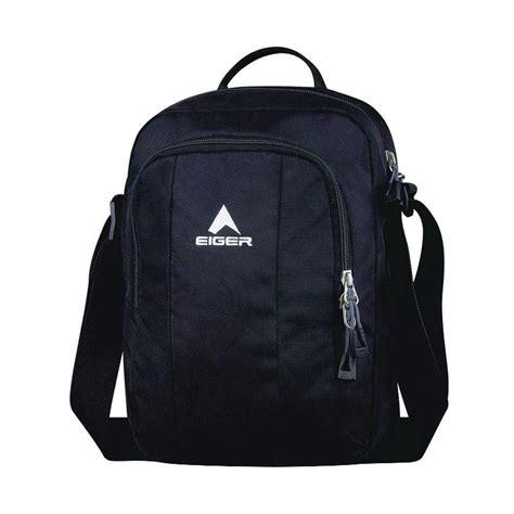 Harga Dompet Pria Merk Eiger jual eiger shoulder bag vertical 2 0 tas pria hitam